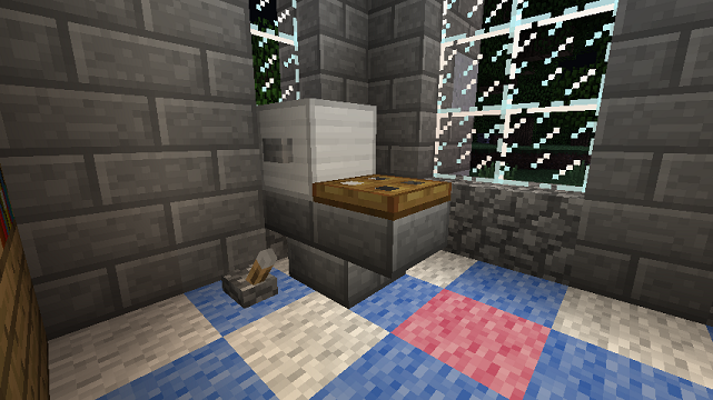 Minecraft Pocket Edition Bathroom Ideas : Minecraft furniture bathroom