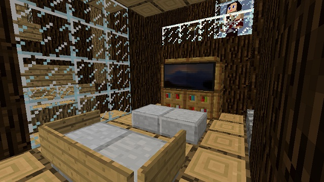 Minecraft Furniture Electronics Small Television