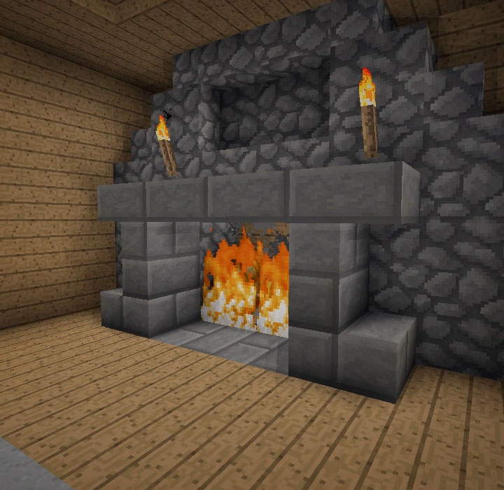 Minecraft furniture fireplaces - Cool contemporary fireplace design ideas adding warmth in style ...