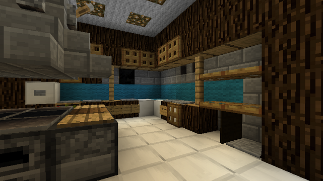 Minecraft furniture kitchen for Kitchen ideas minecraft