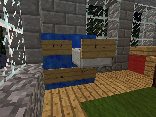 Minecraft Furniture Lifestyle A Filing