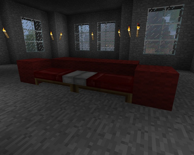 Minecraft Furniture Other Seats A Sofa Bed