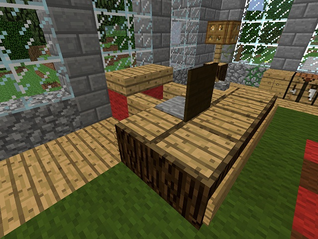 Minecraft Furniture Desks The Boss Desk