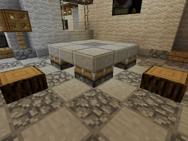Minecraft Furniture Tables