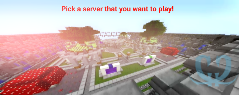 Play on any Server in our ClickCraft Network