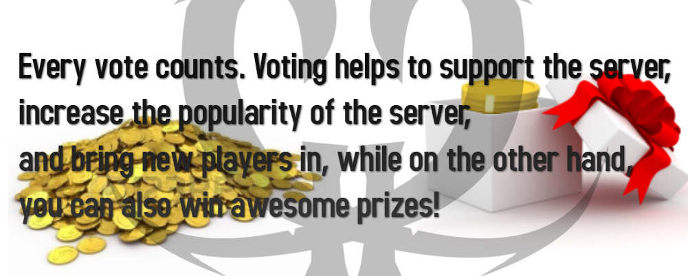 Vote and Receive rewards!