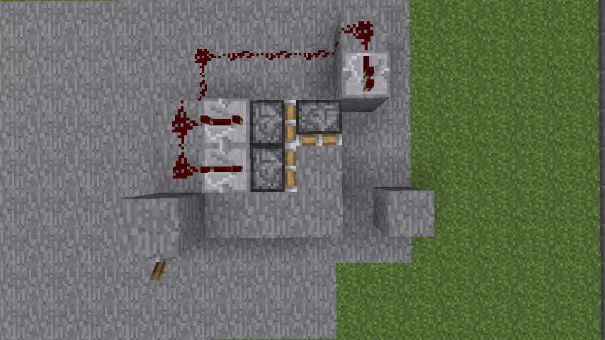 Hidden Redstone Door Minecraft Blog