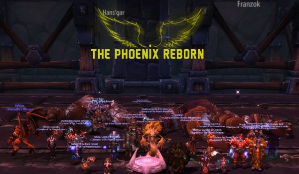 Mythic Hans'gar and Franszok down!