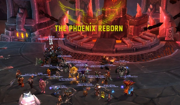 Mythic Flamebender down