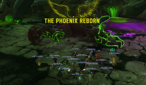 Mythic Kormrok down!
