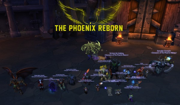 Mythic Council down!
