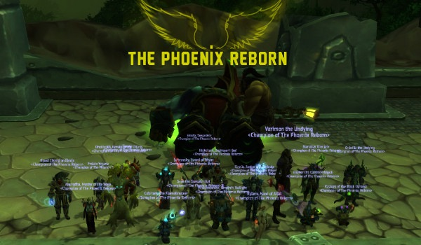 Mythic Zakuun down!