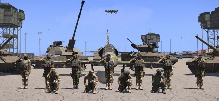 J-SERE: Joint Specialized Regiment, An Arma 3 Realism