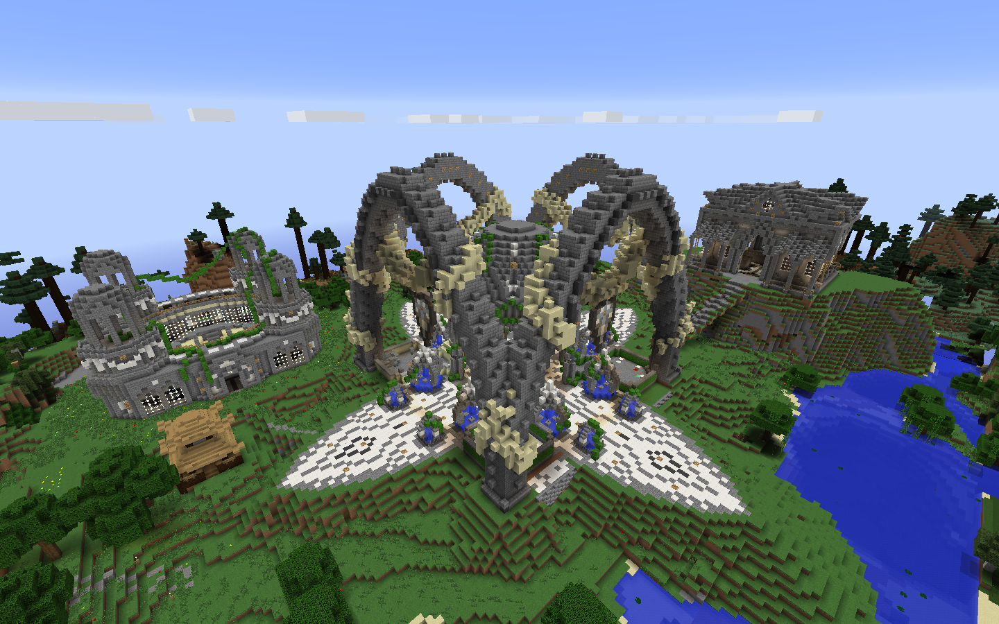 New Uniquecraft Factions spawn