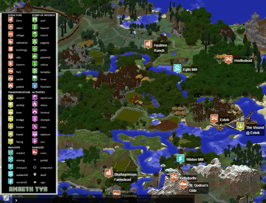 Dynmap - Dynamic web-based maps for Minecraft - Minecraft
